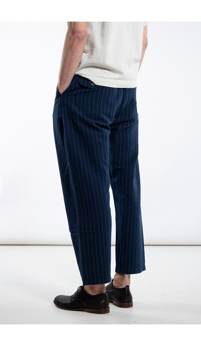 Universal Works Universal Works Broek / Double Pleat / Navy
