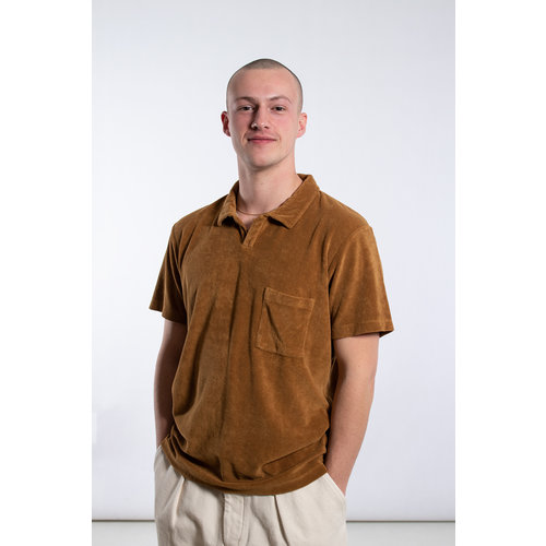 Universal Works Universal Works Polo / Vacation Polo / Brown