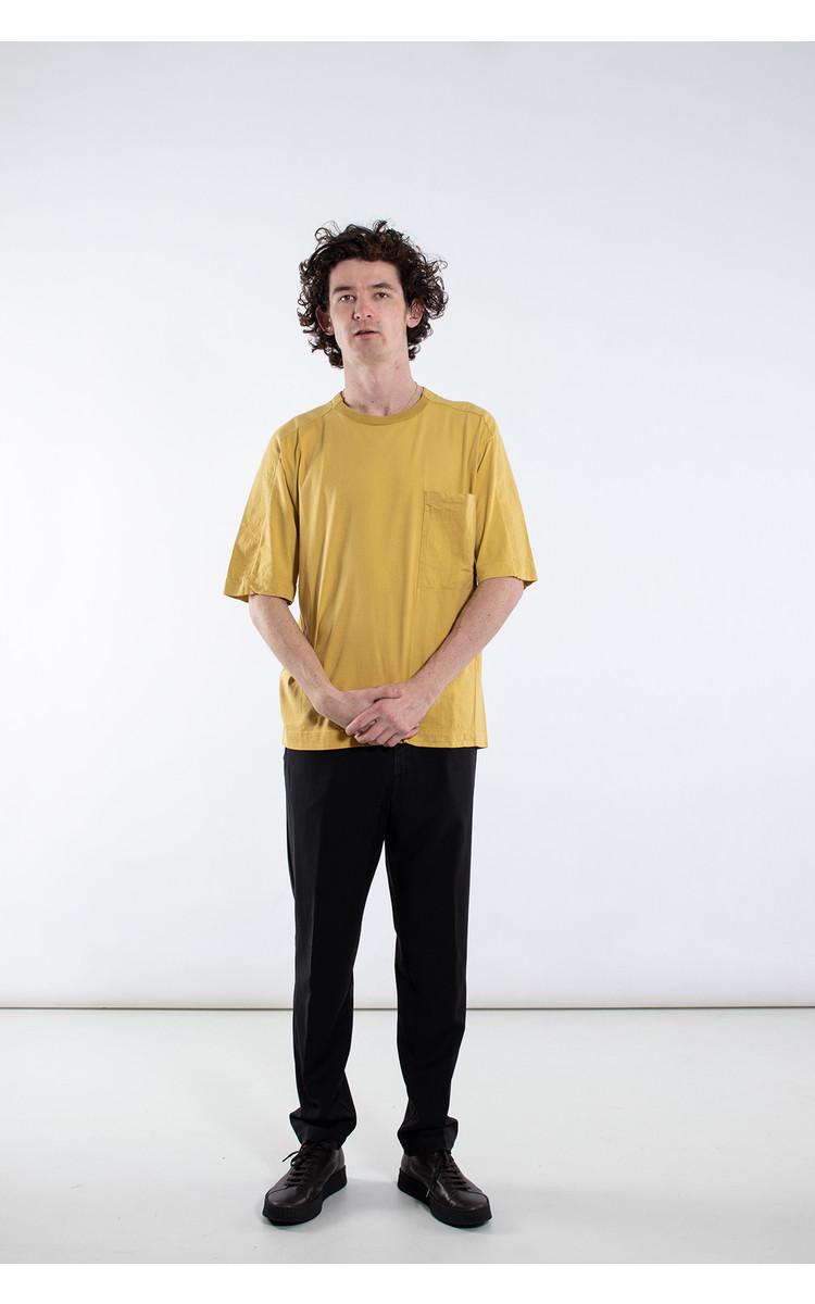 Transit Transit T-Shirt / CFUTRK1363 / Mosterd