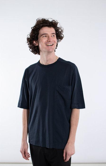 Transit Transit T-Shirt / CFUTRK1363 / Blauw