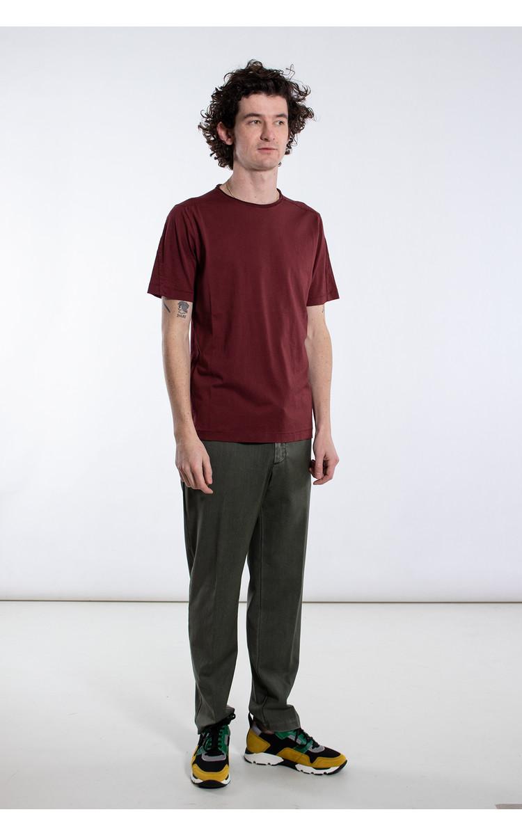 Transit Transit T-Shirt / CFUTRK1360 / Wijnrood