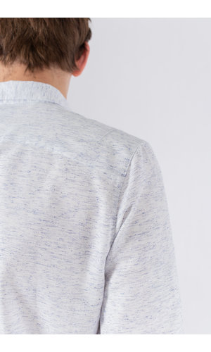 Delikatessen Delikatessen Overhemd / Feel Good / Wit Blauw