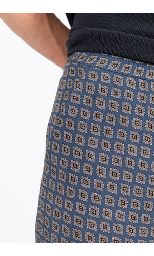 Tiger of Sweden Tiger of Sweden Trousers / Torin / Blue print