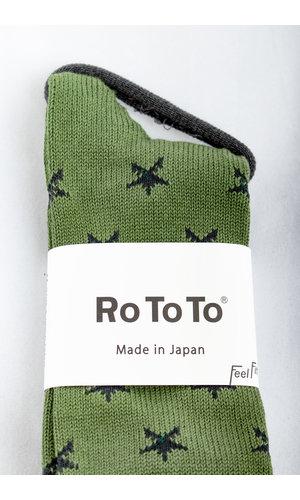 RoToTo RoToTo Sok / Star Socks / Groen