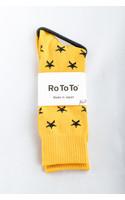 RoToTo Sock / Star Socks / Yellow