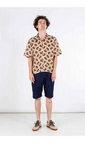Delikatessen Delikatessen Shirt / Short Sleeve / Brown