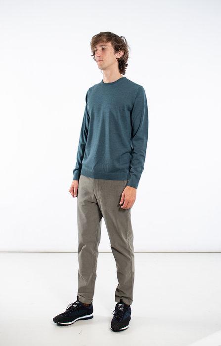Roberto Collina Roberto Collina Trui / RD01001 / Donker Turquoise