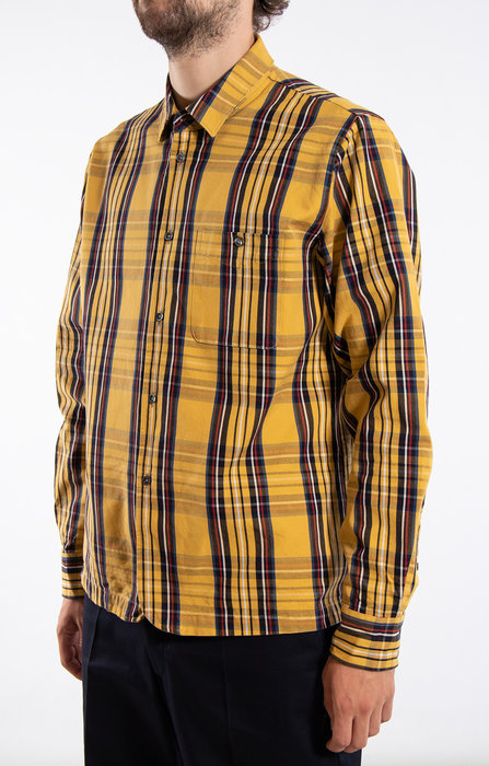 Delikatessen Delikatessen Overhemd / Strong / Gele Ruit