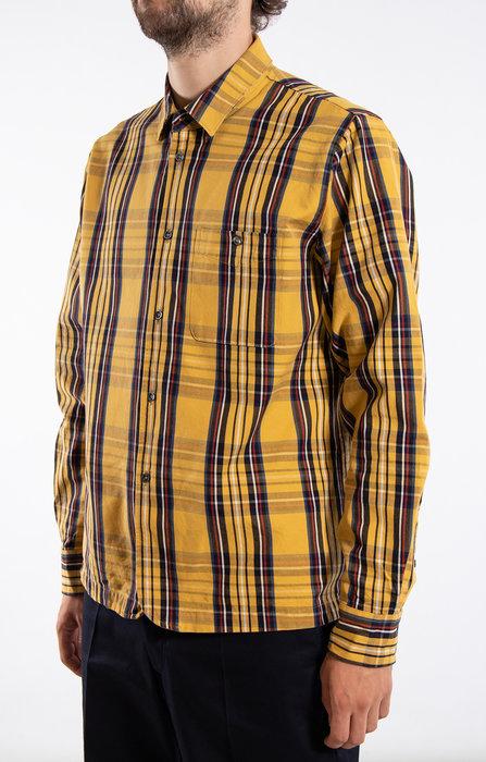 Delikatessen Delikatessen Shirt / Strong / Yellow Check