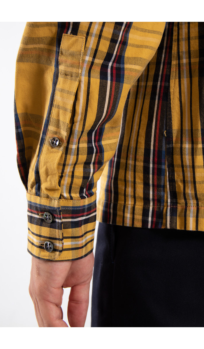 Delikatessen Delikatessen Shirt / Strong / Yellow Check
