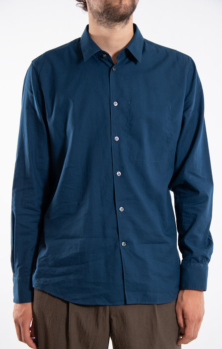 Delikatessen Delikatessen Overhemd / Feel Good / Blauw