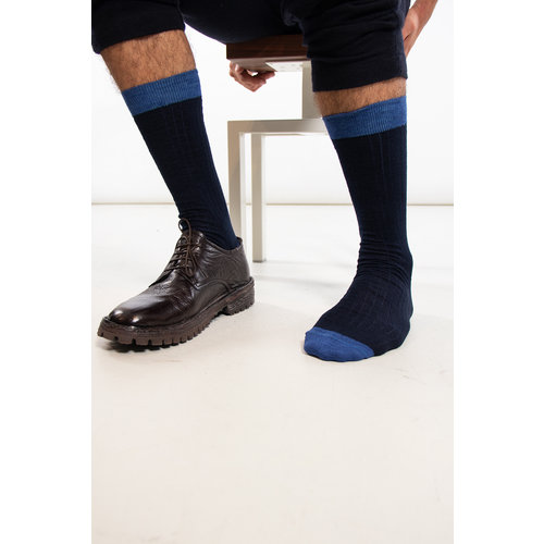 Universal Works Universal Works Sok / Classic Sock / Navy