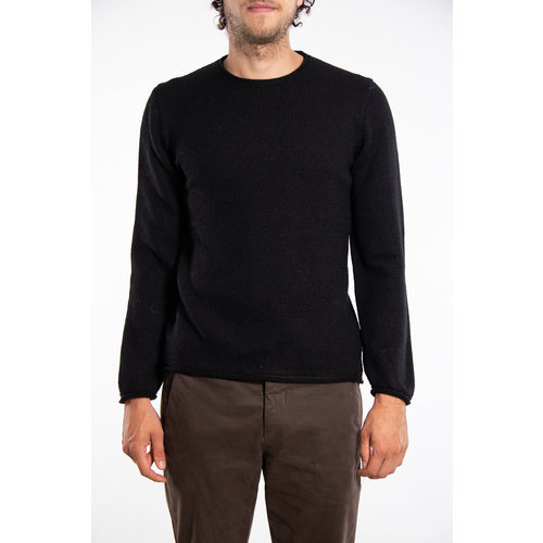 Inis Meain Inis Meáin Sweater / Boiled Alpaca / Black