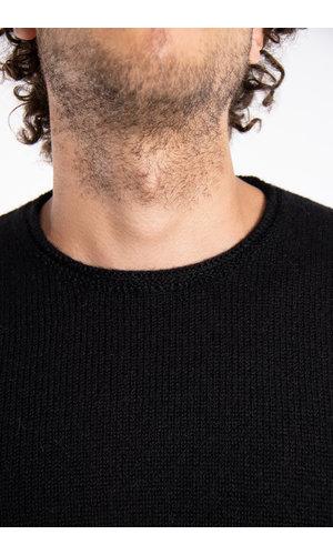 Inis Meain Inis Meáin Sweater / Boiled Alpaca / Black