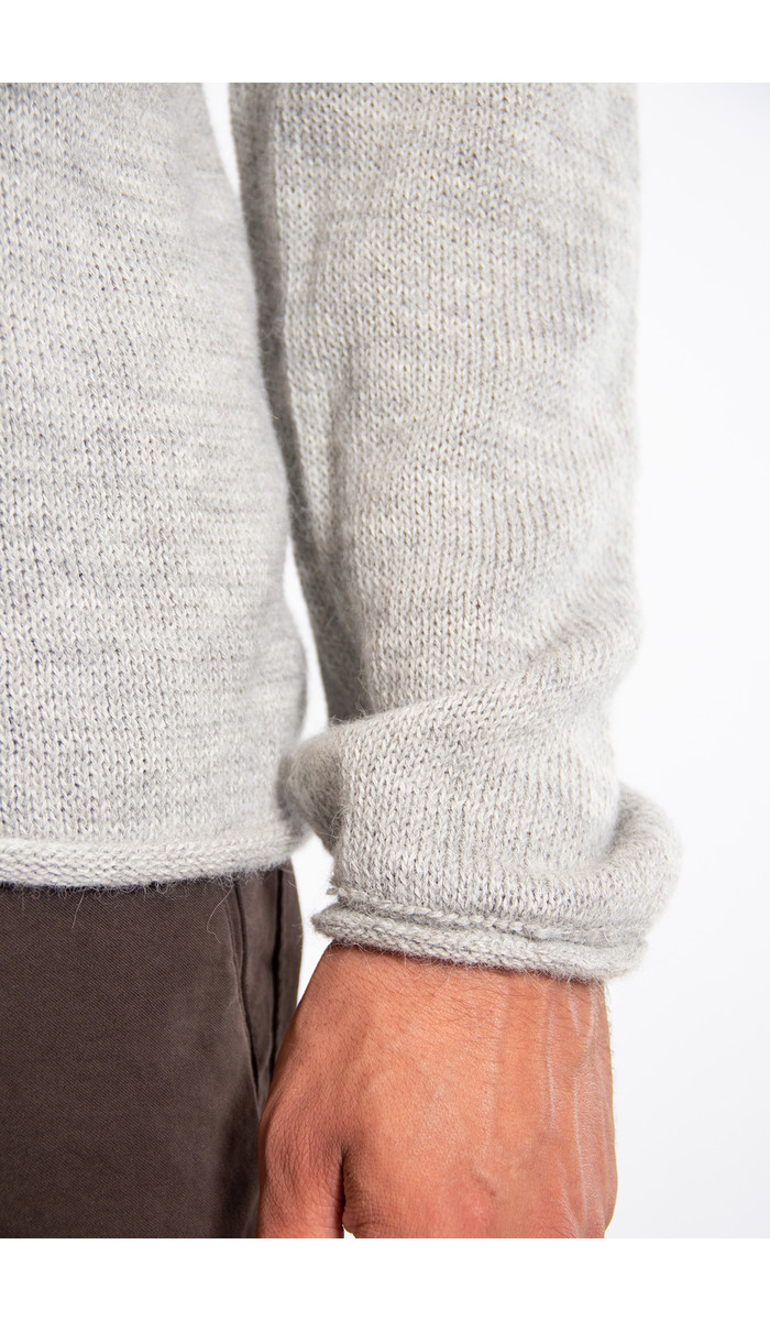 Inis Meain Inis Meáin Sweater / Boiled Alpaca / Oyster