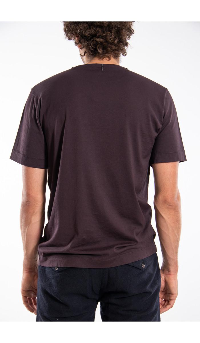 Transit Transit T-Shirt / CFUTRM1361 / Aubergine