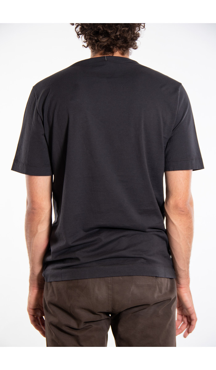 Transit Transit T-Shirt / CFUTRM1361 / Antraciet