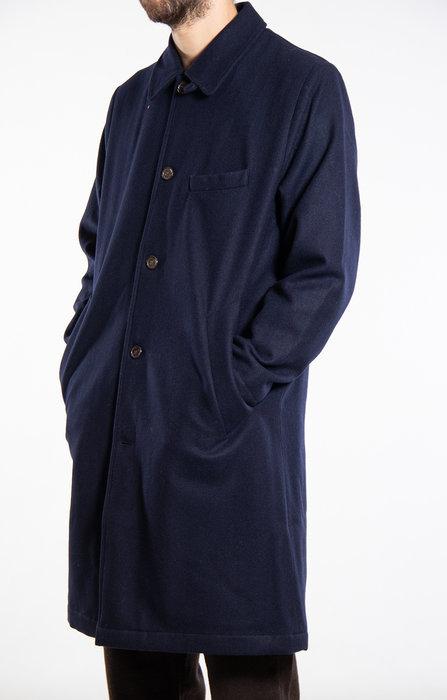 Universal Works Universal Works Jas / Overcoat / Navy