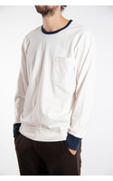 Universal Works T-Shirt / College Loose / White
