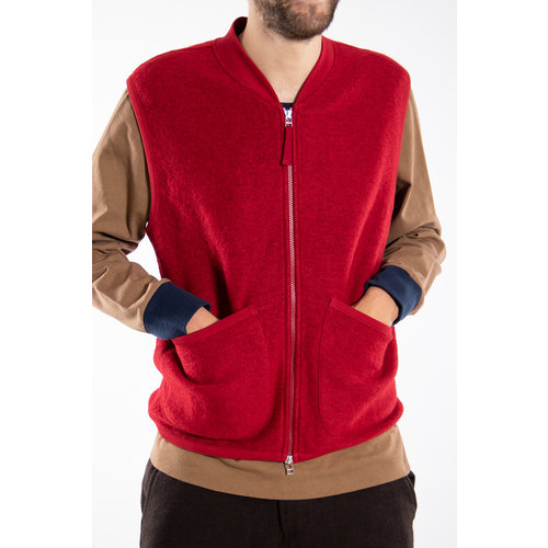 Universal Works Universal Works Vest / Waistcoat / Red