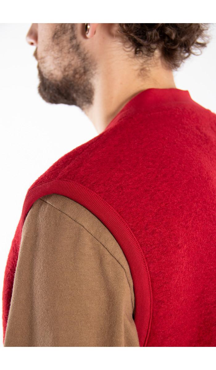 Universal Works Universal Works Vest / Waistcoat / Rood