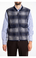 Universal Works Vest / Waistcoat / Blauw