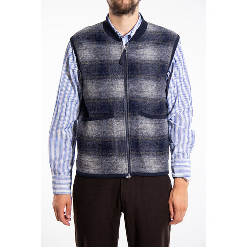 Universal Works Universal Works Vest / Waistcoat / Blue