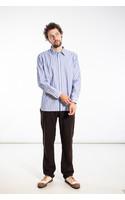 Universal Works Overhemd / New Standard / Blauw