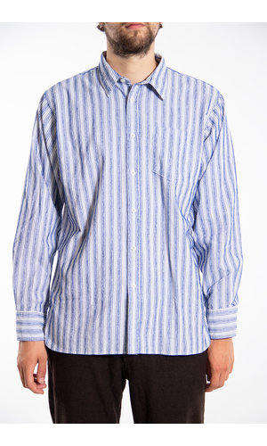 Universal Works Universal Works Shirt / New Standard / Blue
