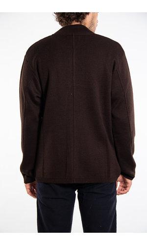Universal Works Universal Works Vest / Knit Work Jacket / Brown