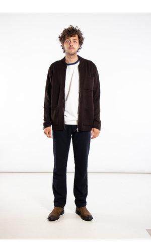 Universal Works Universal Works Vest / Knit Work Jacket / Bruin