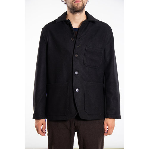 Universal Works Universal Works Jacket / Bakers Chore Jacket / Black