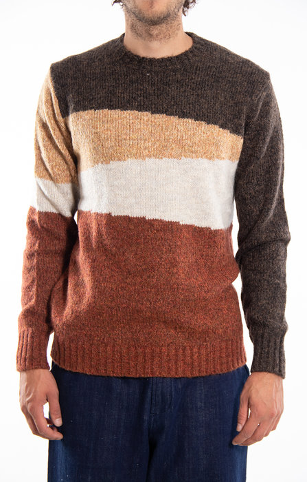 Castart Castart Sweater / Bayer / Brown Melange