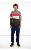 Castart Sweater / Bayer / Grey Red