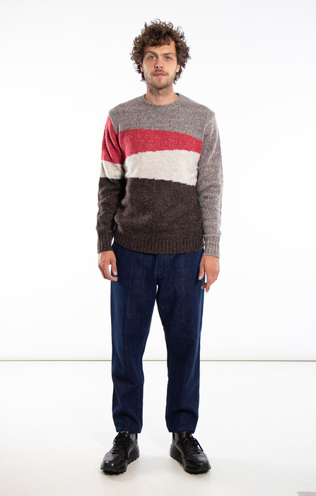 Castart Castart Sweater / Bayer / Grey Red
