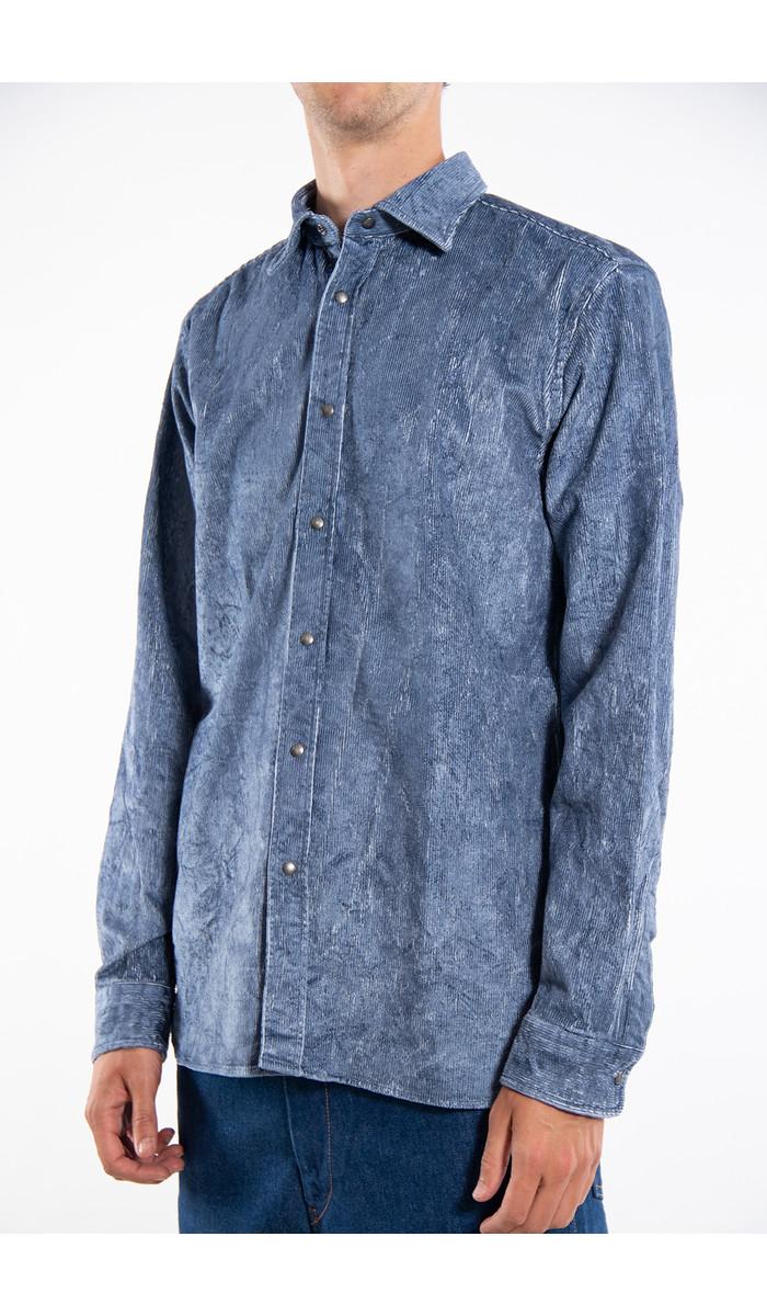 Xacus Overhemd / 71176.001 / Blauw