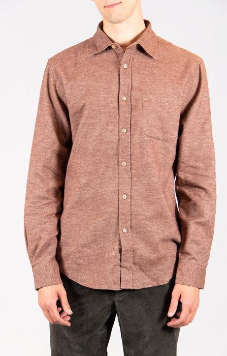 Portuguese Flannel Portuguese Flannel Overhemd / Teca / Kaneel