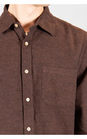 Portuguese Flannel Shirt / Teca / Brown