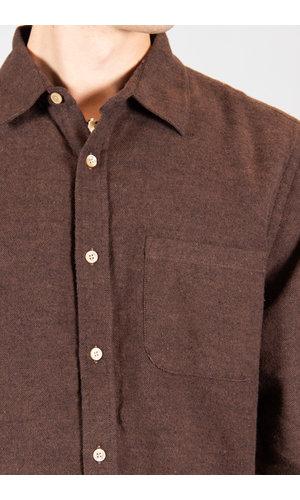 Portuguese Flannel Portuguese Flannel Overhemd / Teca / Bruin