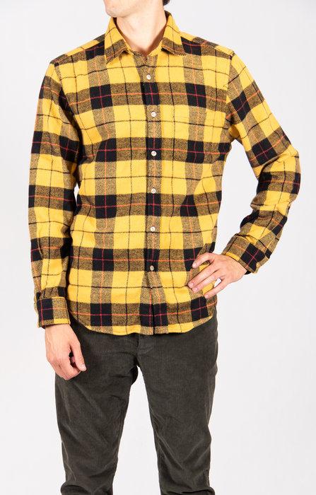 Portuguese Flannel Portuguese Flannel Overhemd / Colorado / Geel