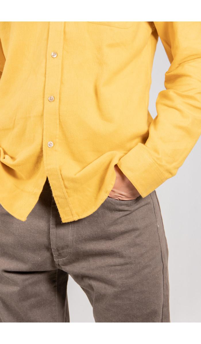 Portuguese Flannel Portuguese Flannel Overhemd / Lobo / Geel
