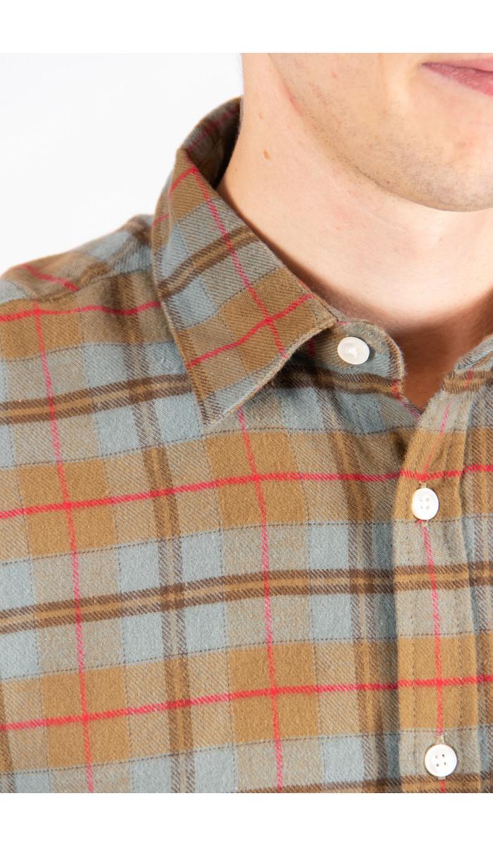 Portuguese Flannel Portuguese Flannel Overhemd / Cabeço / L. Blauw