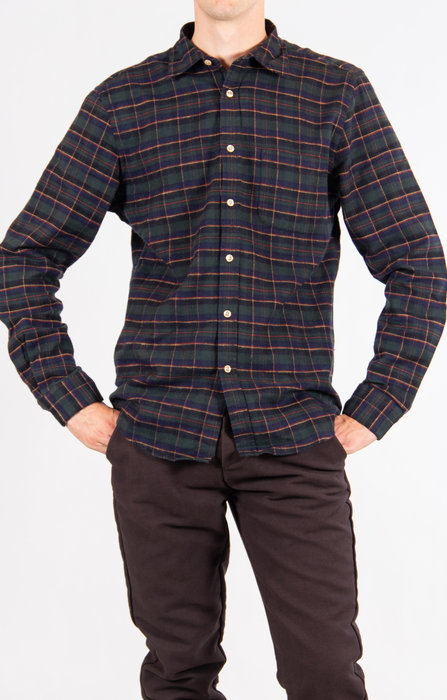 Portuguese Flannel Portuguese Flannel Overhemd / Lordelo / Groen