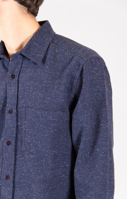 Portuguese Flannel Portuguese Flannel Overhemd / Rude / Navy
