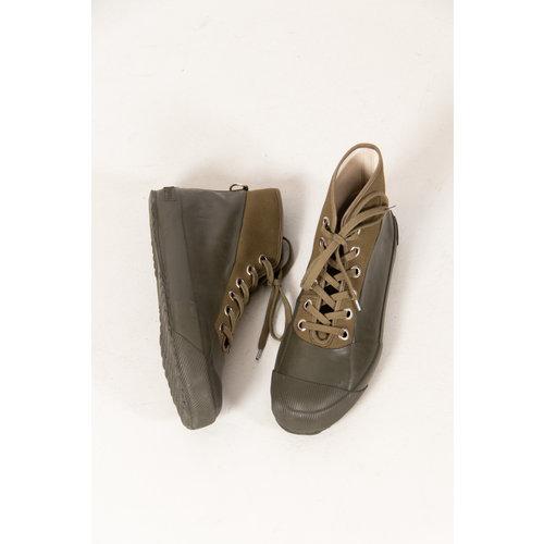 Novesta Novesta Schoen / Rubber Sneaker / Groen