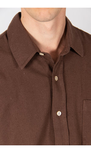 Our Legacy Overhemd / Classic Shirt / Bruin