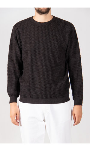 G.R.P. Firenze G.R.P. Sweater / SFTEC60 / Brown