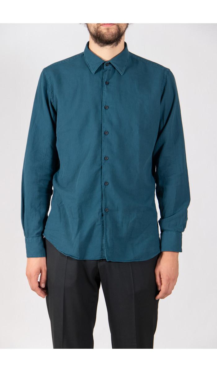 Xacus Overhemd / 71191.627 / Oceaan
