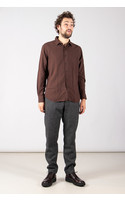 Xacus Overhemd / 71191.111 / Bruin
