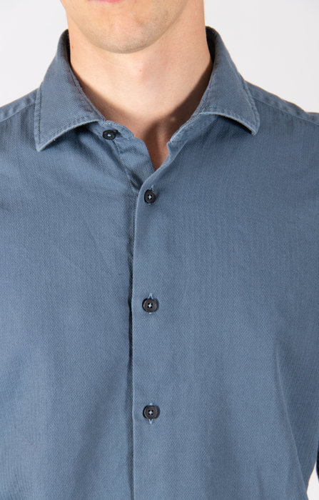 Xacus Overhemd / 71195.715 / Staalblauw
